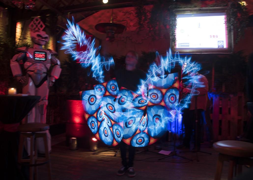 Digital Fire Art Fire Performers For Hire Fire Show Ireland